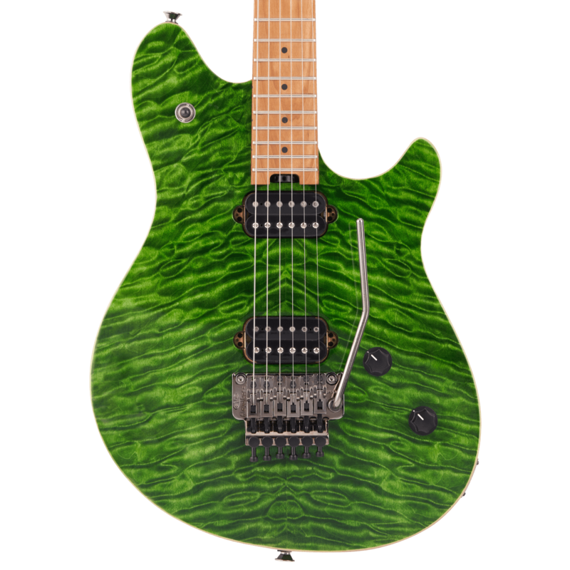 EVH NEW EVH Wolfgang Standard QM - Transparent Green (271)
