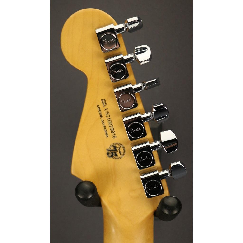 Fender NEW Fender Ultra Luxe Stratocaster Floyd Rose HSS - Mystic Black (916)