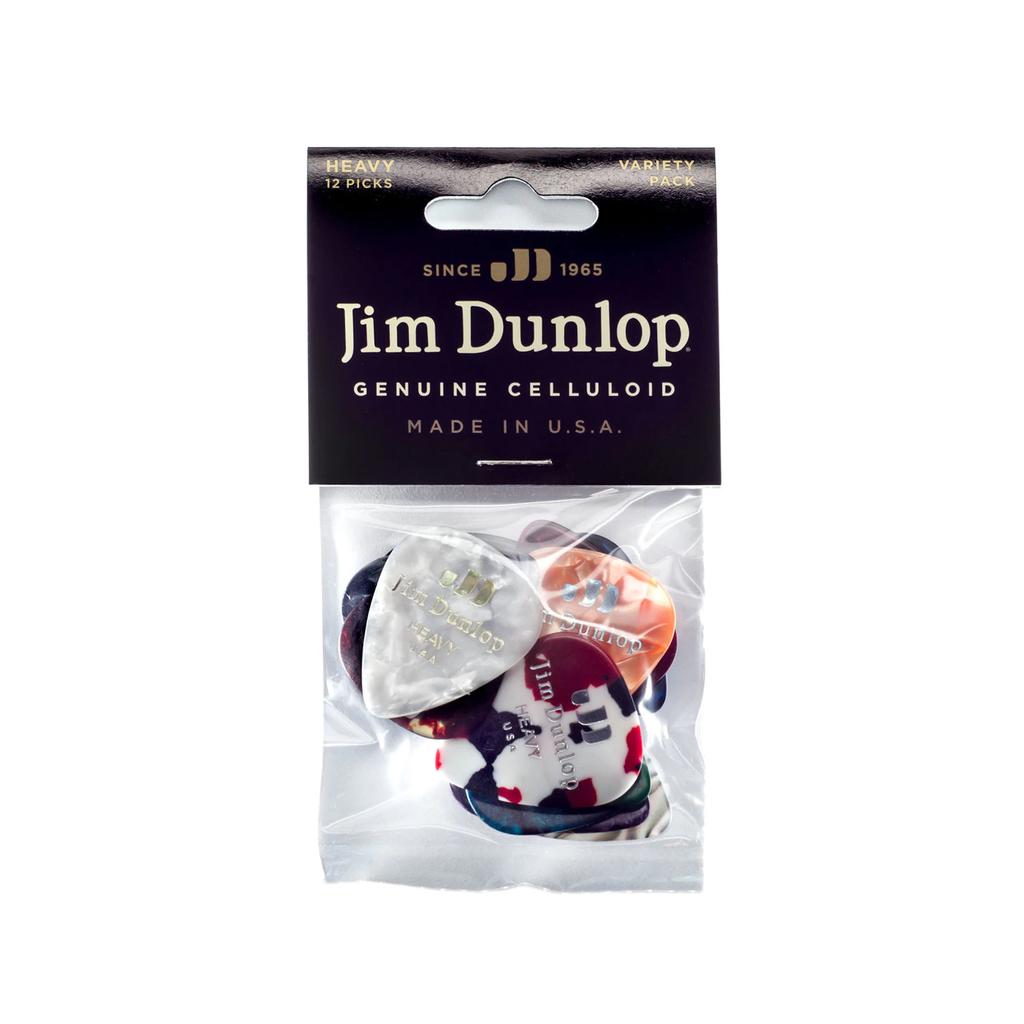 Dunlop NEW Dunlop Celluloid Guitar Pick Variety Pack - Heavy