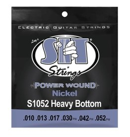 SIT NEW SIT Powerwound Electric Strings - .010-.052