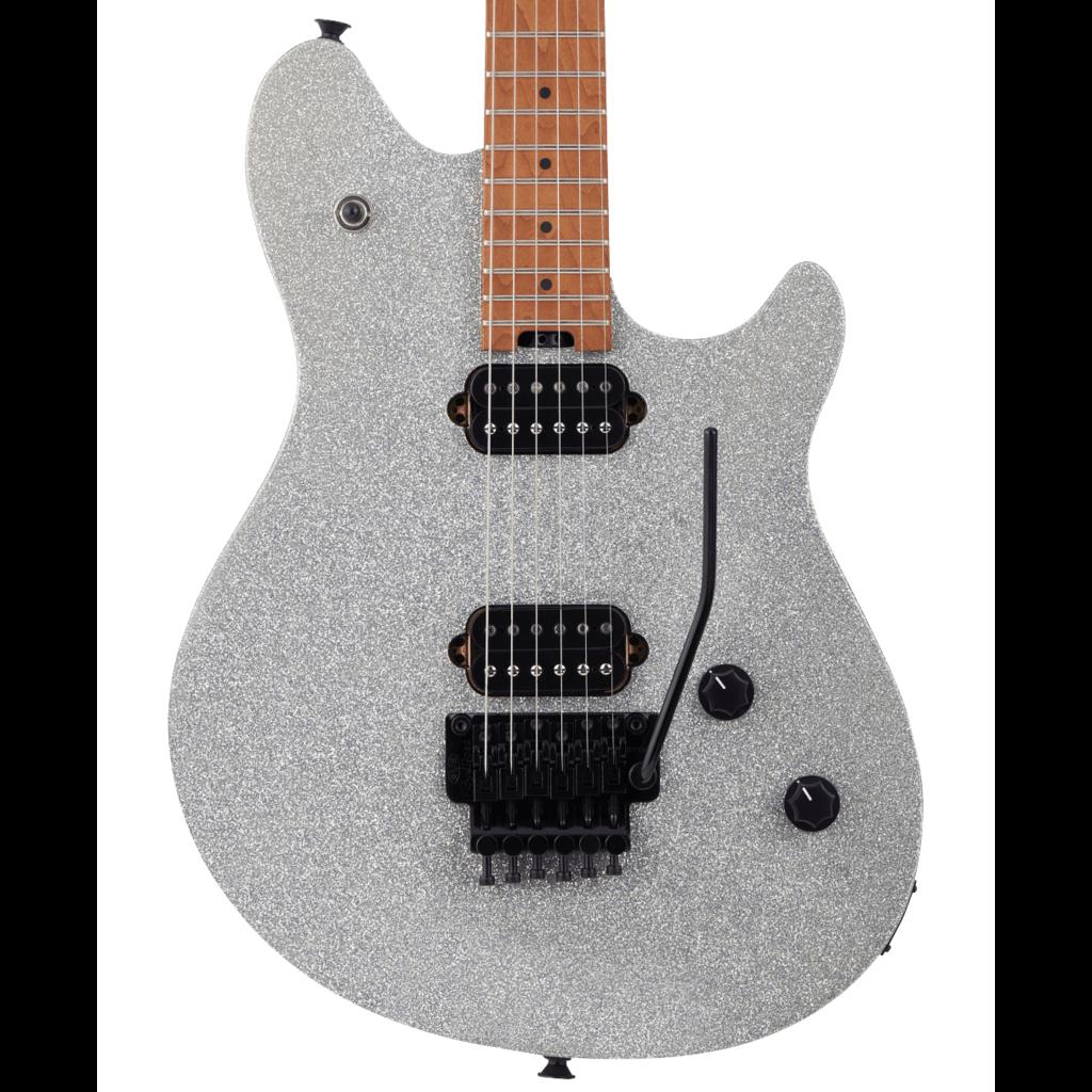 EVH NEW EVH Wolfgang Standard - Silver Sparkle (219)