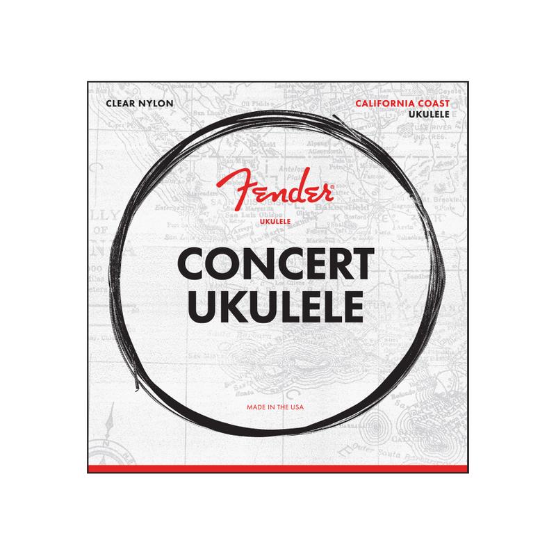 Fender NEW Fender Concert Ukulele Strings