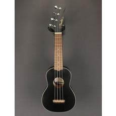 Fender DEMO Fender Venice Soprano Ukulele - Black (131)
