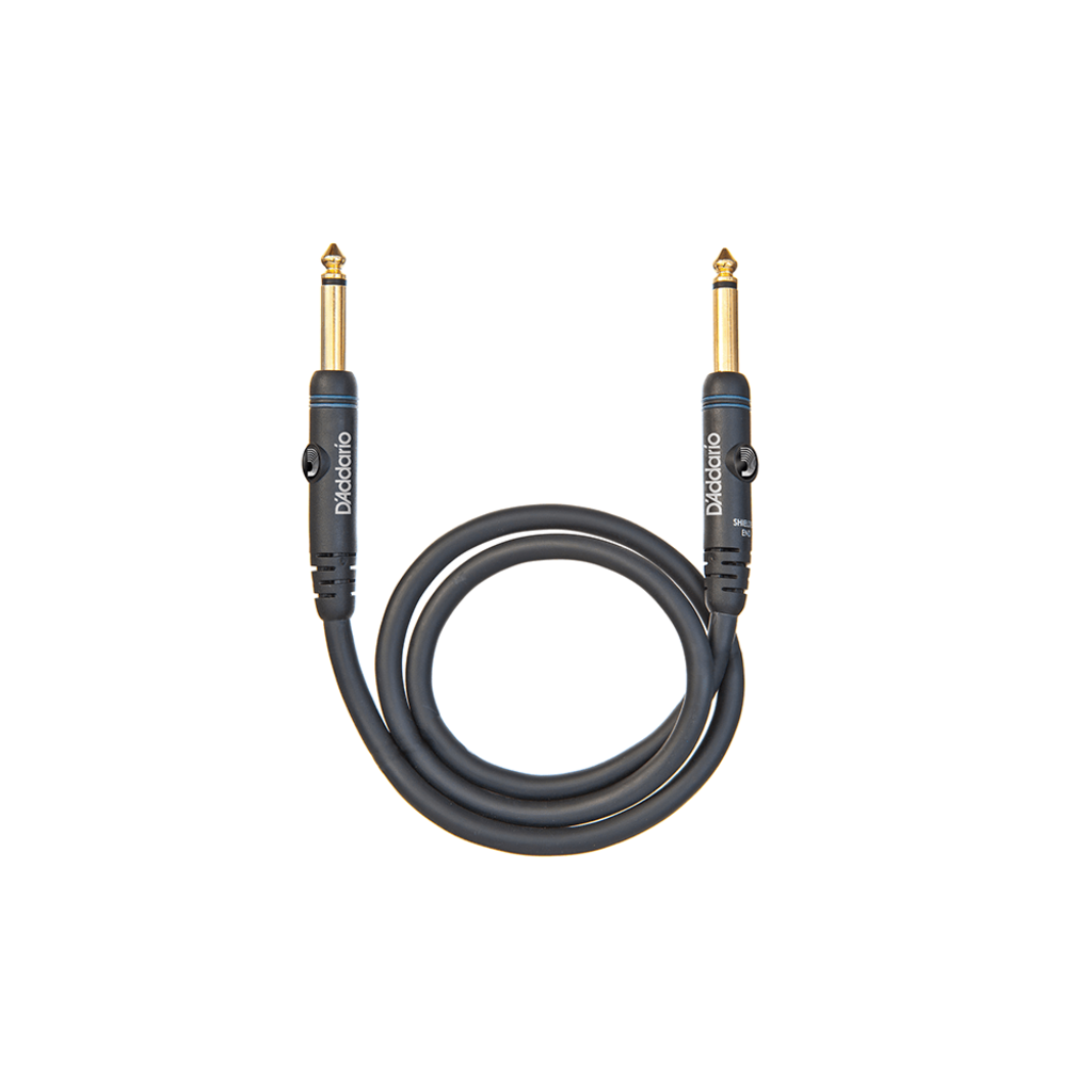 """D'Addario NEW Planet Waves Custom Series 1/4"""" Patch Cable - 2'"""