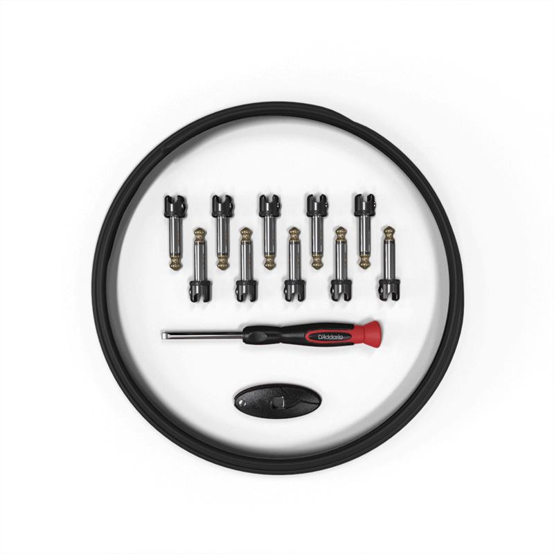 D'Addario NEW D'Addario Pedalboard Solderless Cable Kit - 10'