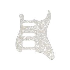Fender NEW Fender Stratocaster HSS Pickguard - Aged White Moto