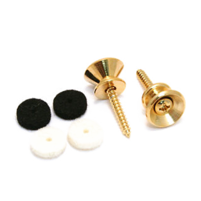 Fender NEW Fender Pure Vintage Strap Buttons - Gold