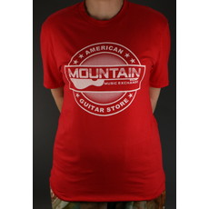 MME NEW MME 'American Guitar Store' Tee - Red - Large