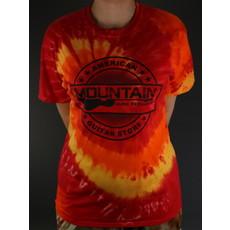 MME NEW MME 'American Guitar Store' Tee - Blaze Rainbow Tie-Dye - XL