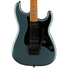 Squier NEW Squier Contemporary Stratocaster HH FR - Gunmetal Metallic (202)