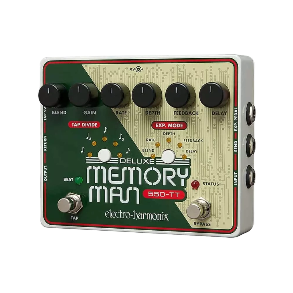 Electro Harmonix NEW Electro Harmonix Deluxe Memory Man 550-TT