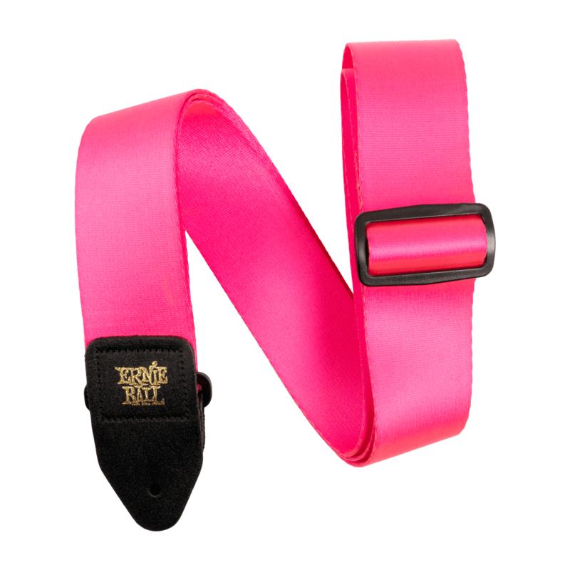 Ernie Ball NEW Ernie Ball Premium Strap - Neon Pink