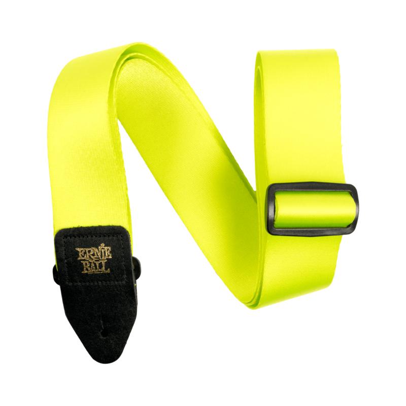 Ernie Ball NEW Ernie Ball Premium Strap - Neon Green