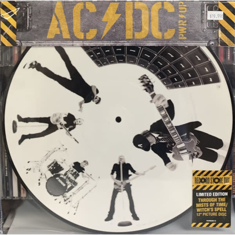 Vinyl NEW AC/DC – Through The Mists Of Time / Witch's Spell-RSD2021