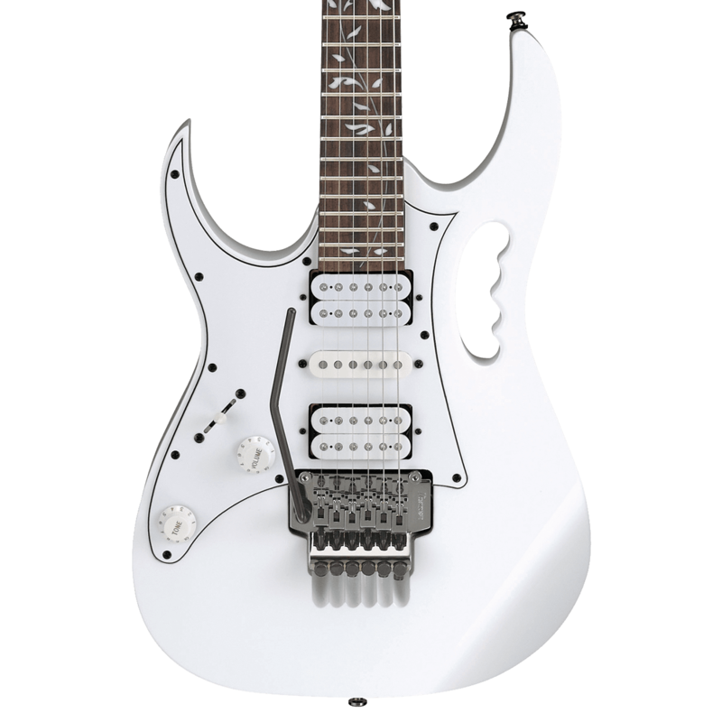 Ibanez NEW Ibanez Steve Vai Signature JEM JR Left-Handed - White (222)