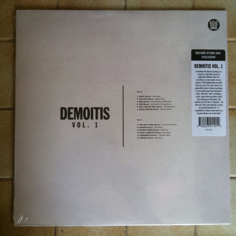 Vinyl NEW Various – Demoitis Vol.1-RSD21