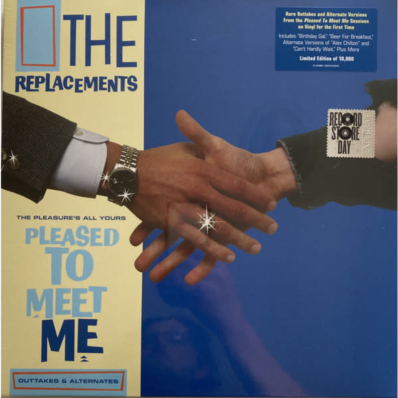 Vinyl NEW The Replacements – The Pleasure's All Yours: Pleased To Meet Me Outtakes & Alternates-RSD21