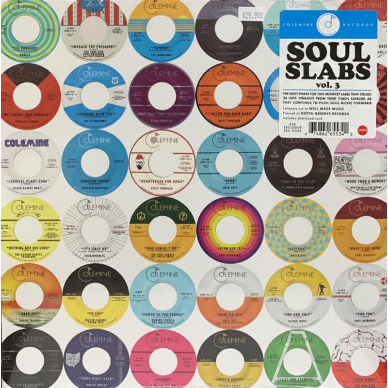 Vinyl NEW Various – Soul Slabs Vol. 3-RSD21