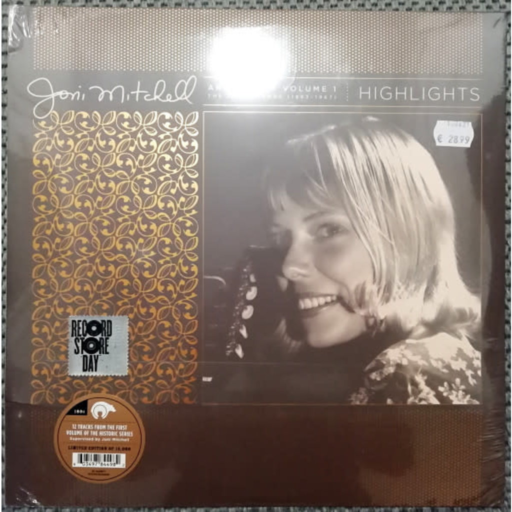 Vinyl NEW Joni Mitchell – Archives – Volume 1: The Early Years (1963-1967): Highlights-RSD21
