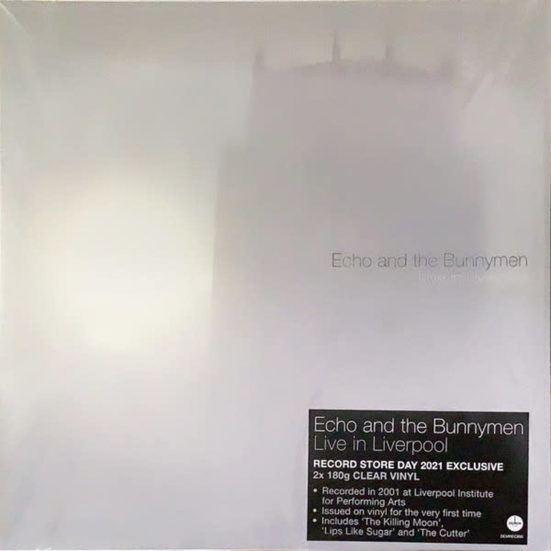 Vinyl NEW Echo And The Bunnymen* – Live In Liverpool-RSD21