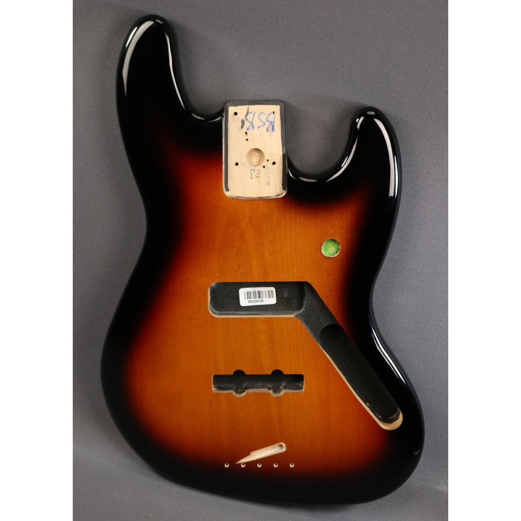 Fender NEW Fender Standard Series Jazz Bass Body - Brown Sunburst (169)