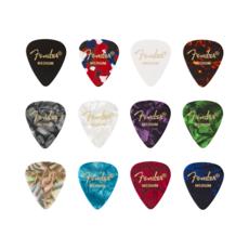NEW Fender 351 Pick - Celluloid Medley - Medium - 6-Pack