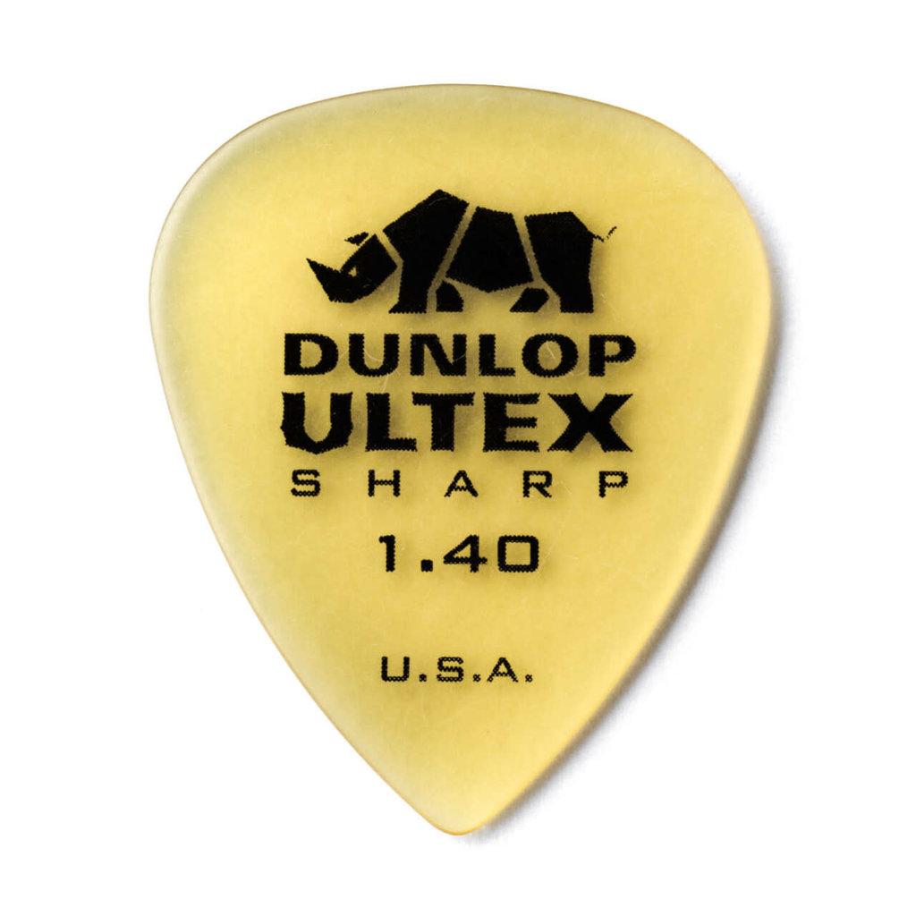 Dunlop NEW Dunlop Ultex Sharp Picks - 1.40mm - 12 Pack