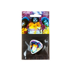Dunlop NEW Dunlop Jimi Hendrix Are You Experienced Picks - Medium - 6 Pack