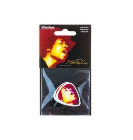 Dunlop NEW Dunlop Jimi Hendrix Electric Ladyland Picks - Heavy - 6 Pack