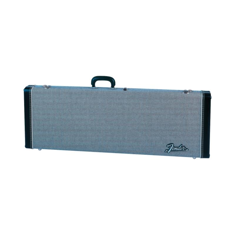 Fender NEW Fender G&G Deluxe Strat/Tele Case - Black Tweed/Black Interior