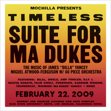 """Vinyl NEW Miguel Atwood-Ferguson – Mochilla Presents Timeless: Suite For Ma Dukes - The Music Of James """"J Dilla"""" Yancey-RSD21"""