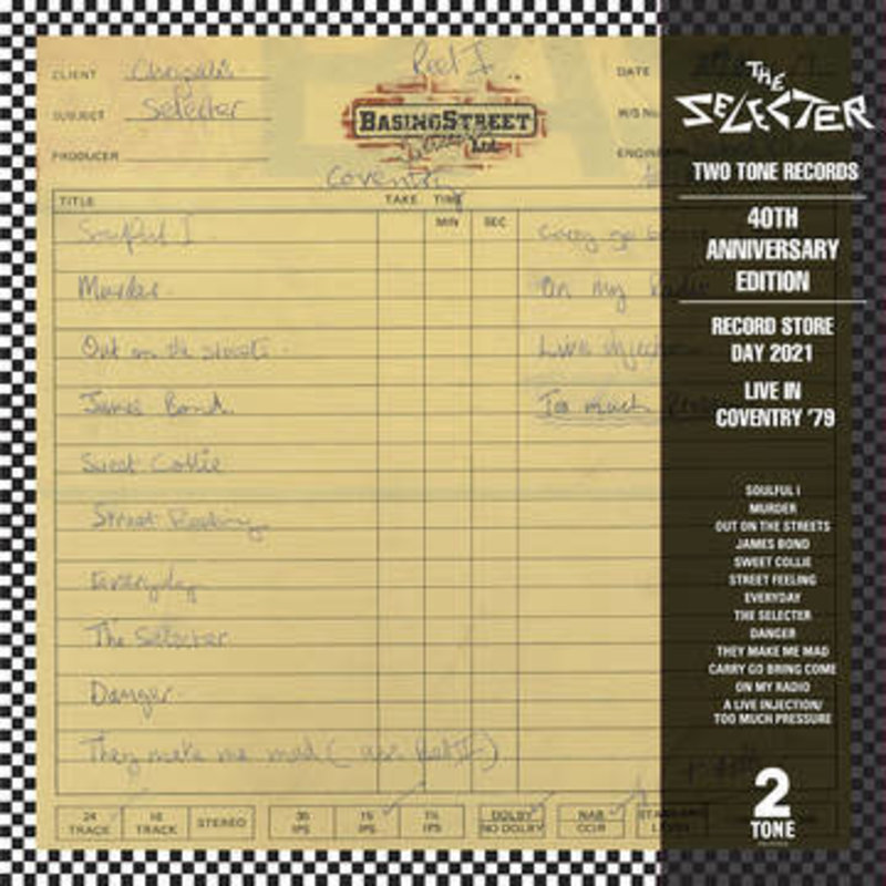 Vinyl NEW The Selecter – Live In Coventry '79-RSD21
