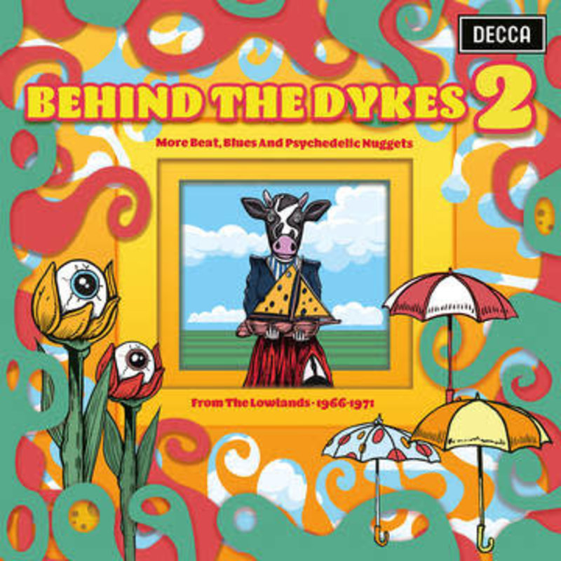 Vinyl NEW Various – Behind The Dykes 2 - More Beats, Blues And Psychedelic Nuggets From The Lowlands 1966-1971-RSD21