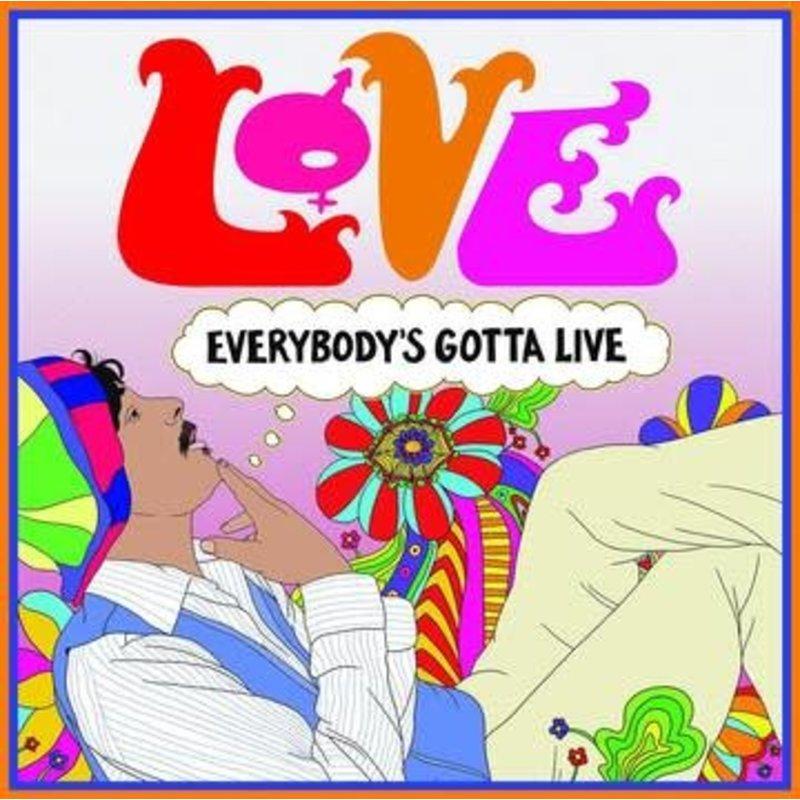 Vinyl NEW Love – Everybody's Gotta Live-RSD21