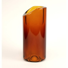 THE ROCK SLIDE NEW The Rock Slide Amber Glass - Medium