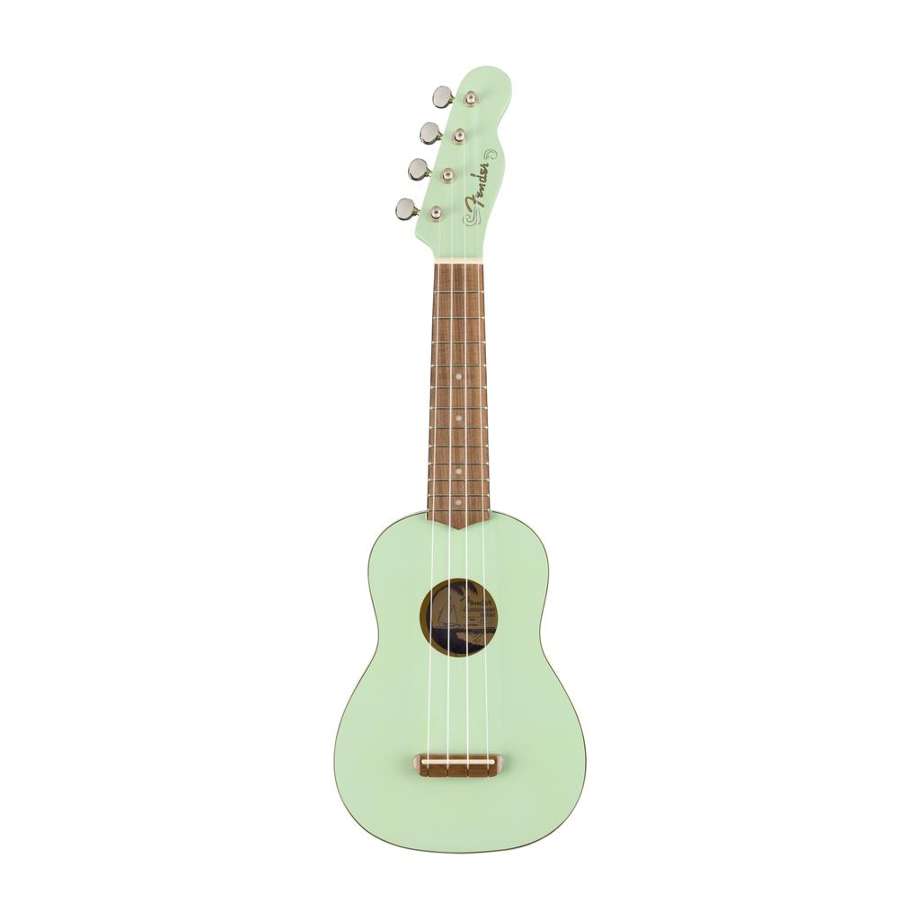 Fender NEW Fender Venice Soprano Ukulele - Surf Green (664)