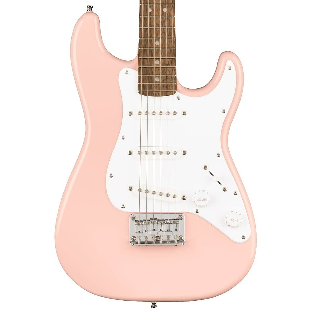 Squier NEW Squier Mini Stratocaster - Shell Pink (431)