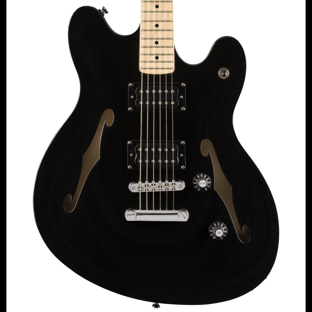 Squier NEW Squier Affinity Series Starcaster - Black (665)