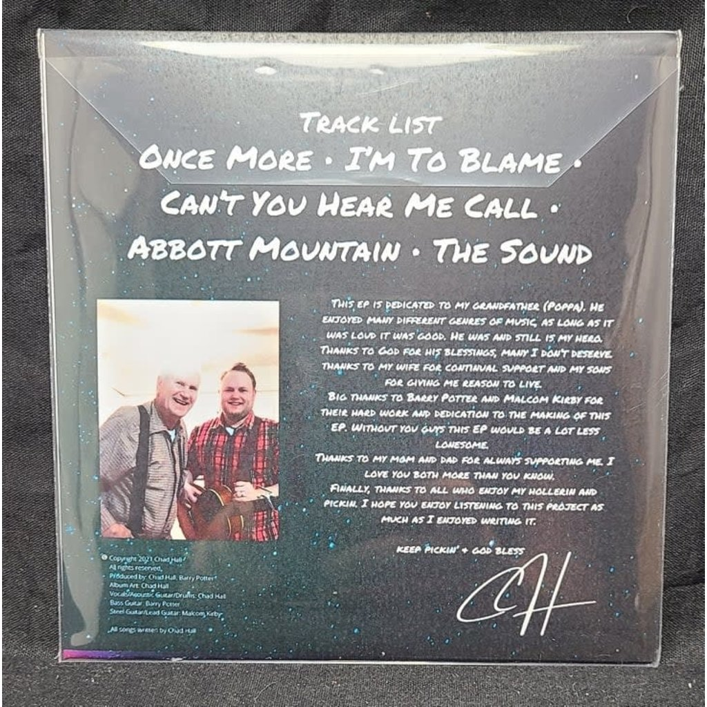 "Local Music Chad Hall ""Abbott Mountain EP"""