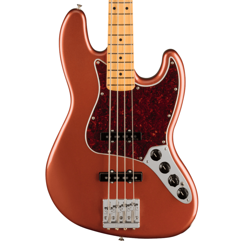 Fender NEW Fender Player Plus Jazz Bass - Aged Candy Apple Red (011)
