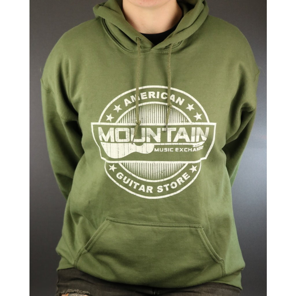 MME NEW MME American Guitar Store Hoodie - Green - Small