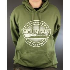 MME NEW MME American Guitar Store Hoodie - Green - Medium