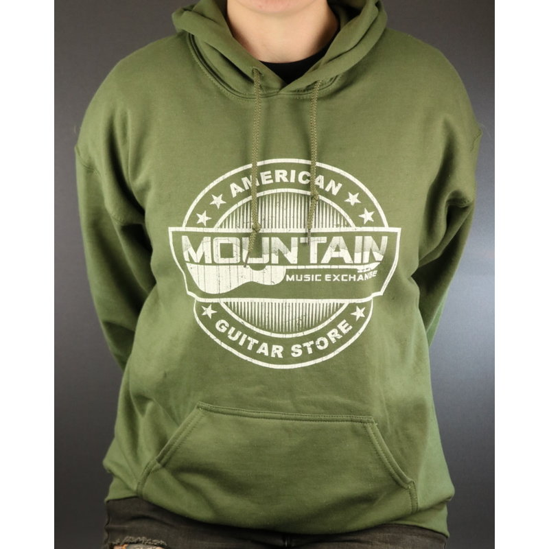 MME NEW MME American Guitar Store Hoodie - Green - 3XL