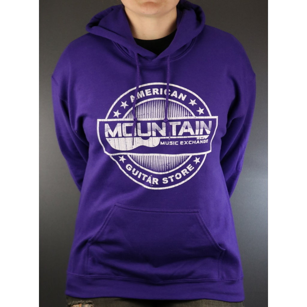 MME NEW MME American Guitar Store Hoodie - Purple - Medium