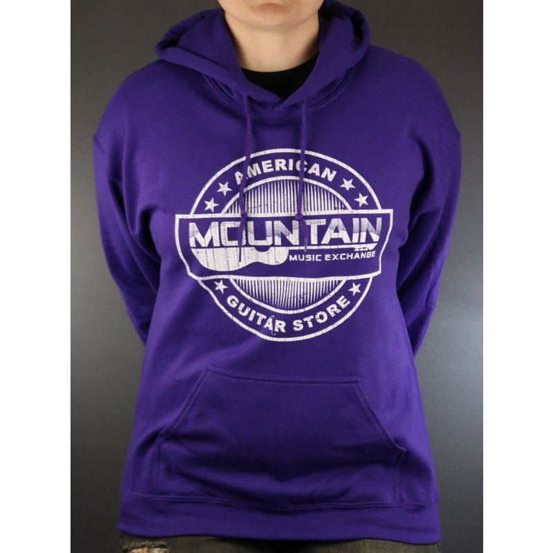 MME NEW MME American Guitar Store Hoodie - Purple - Large