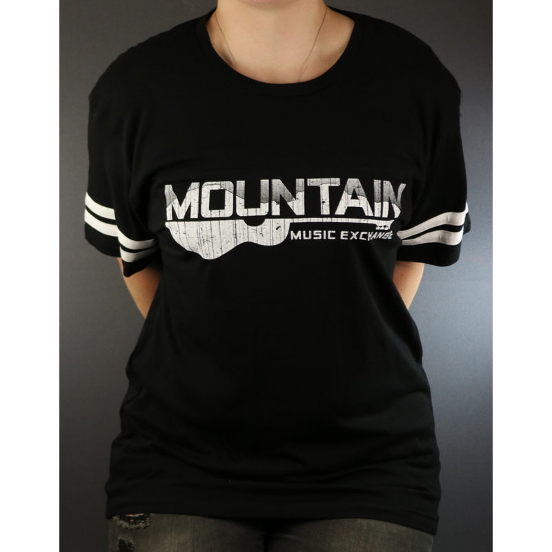 MME NEW MME Football Jersey Tee -  Black/White - Medium