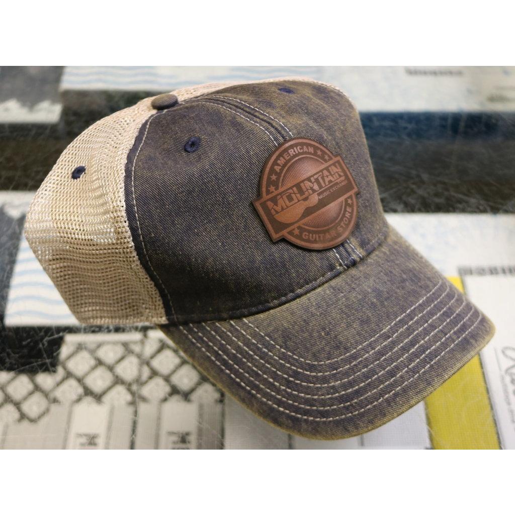 MME NEW MME American Guitar Store Trucker Hat - Navy/Khaki