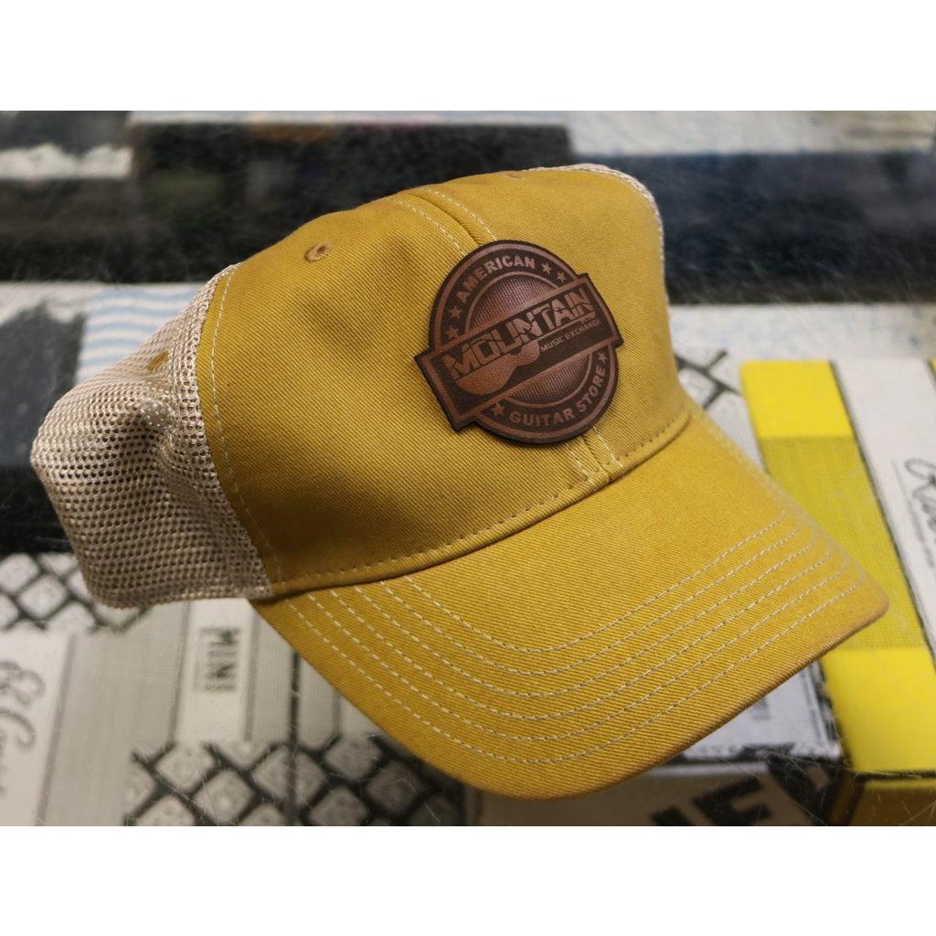 MME NEW MME American Guitar Store Trucker Hat - Yellow Khaki