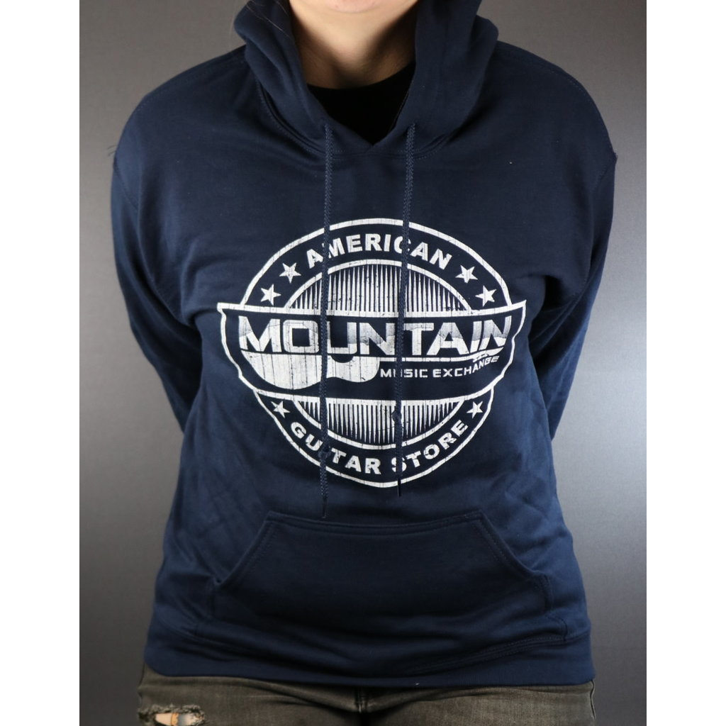 MME NEW MME American Guitar Store Hoodie - Navy - Small