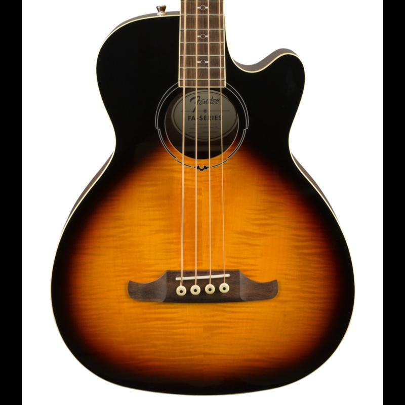 Fender NEW Fender FA-450CE Bass - 3-Color Sunburst (656)